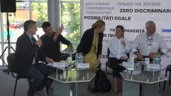 """Panel de discuții organizat în cadrul Expoziției """"MoldMedizin & MoldDent 2019"""" care lansează apelul """"100% viață pentru fiecare!"""""""