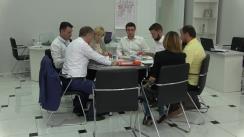 Briefing de presă după depunerea actelor pentru înregistrarea lui Victor Chironda în calitate de candidat la funcția de primar al Municipiului Chișinău și a echipei pentru Consiliul Municipal