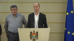 """Conferință de presă susținută de deputatul Blocului ACUM, Liviu Vovc, cu genericul """"Victimele vechiului regim"""""""