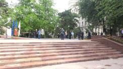 """Inaugurarea scărilor de granit din Parcul """"Valea Morilor"""""""