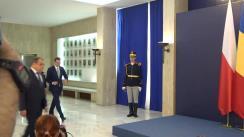 Întâlnirea Prim-ministrului Republicii Polone, Mateusz Morawiecki, de către Prim-ministrul României, Viorica Dăncilă