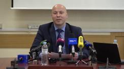 Conferință de presă organizată de Agenția Proprietății Publice privind administrarea companiei Moldtelecom