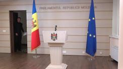 Briefing susținut de deputatul Octavian Țîcu