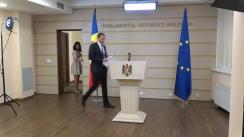 Briefing susținut de fracțiunea parlamentară a Partidului Politic ȘOR