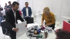 Depunerea listelor cu semnături la Consiliul Electoral de Circumscripție pentru înregistrarea în cursa electorală a candidatului independent la funcția de primar al municipiului Chișinău, Ruslan Codreanu