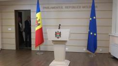 Briefing susținut de fracțiunea parlamentară a Partidului Democrat din Moldova