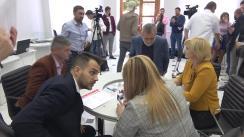 Înregistrarea candidatului la funcția de primar al municipiului Chișinău și a listei consilierilor municipali din partea Partidului Liberal Democrat din Moldova