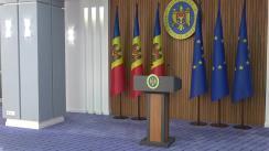 Conferință de presă susținută de Prim-ministrul Republicii Moldova, Maia Sandu, privind rezultatele vizitei în SUA