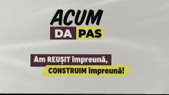 Lansarea Blocului ACUM în campania electorală pentru alegerile locale din 20 octombrie 2019!