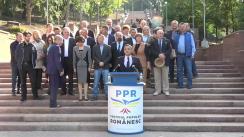 Lansarea candidatului Partidului Popular Românesc, Vlad Țurcanu, la funcția de primar al municipiului Chișinău