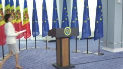 Conferință de presă susținută de Prim-ministrul Republicii Moldova, Maia Sandu, privind Raportul de activitate pentru 100 de zile de mandat
