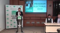 Evenimentul de lansare oficială în campania electorală a candidatului la funcția de primar al municipiului Chișinău, Victor Chironda și a echipei sale