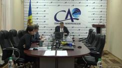"""Conferința de presă organizată de Consiliul Audiovizualului cu genericul """"Consiliul Audiovizualului și provocările campaniei electorale"""""""