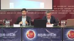 """Conferința de presă organizată de Comunitatea WatchDog.MD și CBS-AXA cu ocazia prezentării rezultatelor sondajului de opinie """"Omnibus pre-electoral Chișinău 2019"""""""