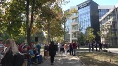 Protest la Curtea de Apel în susținerea deputatelor Partidului ȘOR - Marina Tauber și Reghina Apostolova