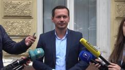 Declarații de presă susținute de Ruslan Codreanu, candidat independent la funcția de primar general al municipiului Chișinău, privind decizia Consiliului Electoral de Circumscripție