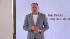 """Conferință de presă susținută de candidatul Ion Ceban cu tema """"Soluții pentru problema parcărilor din Chișinău"""""""