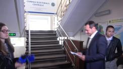 Ruslan Codreanu depune contestația la CEC prin care cere anularea/revizuirea deciziei Consiliului Electoral de Circumscripție Chișinău