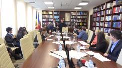 Ședință de lucru organizată de Comisia cultură, educație, cercetare, tineret, sport și mass-media de examinare a propunerilor parvenite de la Grupul de lucru pentru identificarea, elaborarea și definitivarea soluțiilor legislative în scopul perfecționării legislației în domeniul tineretului