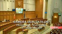 Ședința în plen a Camerei Deputaților României din 2 octombrie 2019