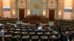 Ședința în plen a Senatului României din 2 octombrie 2019