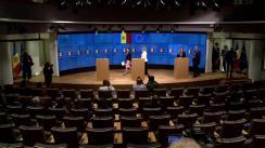 Conferință de presă susținută de Înaltul Reprezentant al UE pentru Afaceri Externe și Politica de Securitate și Vicepreședintele Comisiei Europene, Federica Mogherini, și Prim-ministrul Republicii Moldova, Maia Sandu