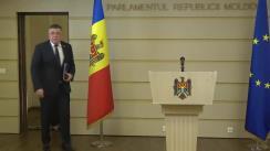 """Conferință de presă susținută de deputatul fracțiunii ACUM Platforma DA, Iurie Reniță, cu tema """"Politica externă a Republicii Moldova și promotorii ei"""""""