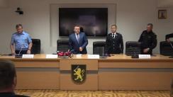 Conferință de presă organizată de Inspectoratul General al Poliției privind circumstanțele în care s-a produs accidentul de ieri de la Buiucani