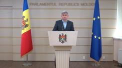 Conferință de presă susținută de deputatul Partidului Democrat din Moldova, Alexandru Jizdan