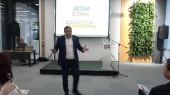 Lansarea proiectului de program pentru Chișinău al candidatului Blocului ACUM Platforma DA și PAS la funcția de primar al municipiului Chișinău, Andrei Năstase