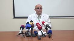 Briefing susținut de reprezentanții Spitalului de Urgență privind starea pacienților în urma accidentului de ieri de la Buiucani