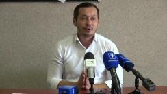 Conferință de presă susținută de Ruslan Codreanu privind imperativitatea/necesitatea implicării Guvernului Republicii Moldova pentru eliminarea prevederilor discriminatorii față de candidații independenți care aspiră la funcția de primar al municipiului Chișinău