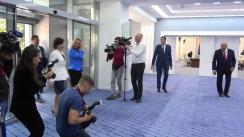 Întâmpinarea Înaltului Reprezentant al Uniunii Europene pentru Afaceri Externe și Politică de Securitate, Federica Mogherini, de către Prim-ministrul Republicii Moldova, Maia Sandu