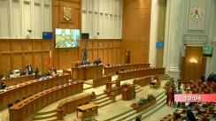 Ședința comună a Camerei Deputaților și Senatului României din 3 octombrie 2019