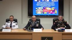 """Briefing de presă """"Măsurile de asigurare a ordinii și securității publice și dirijării traficului rutier, de Ziua Națională a Vinului, care va avea loc în perioada 5-6 octombrie 2019"""""""