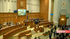 Ședința comună a Camerei Deputaților și Senatului României din 10 octombrie 2019. Dezbateri și vot asupra Moțiunii de cenzură inițiate de 237 deputați și senatori