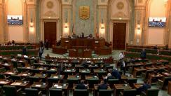 Ședința în plen a Senatului României din 7 octombrie 2019