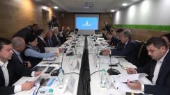 """Ședința de lucru privind planul de separare a operatorului sistemului de transport (OST) al gazelor naturale SRL """"Moldovatransgaz"""""""