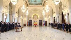 Ceremonia publică de promulgare a legii privind înființarea Muzeului Național de Istorie a Evreilor și al Holocaustului din România