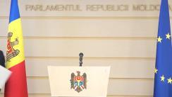 Conferință de presă susținută de Președintele Comisiei de anchetă pentru elucidarea circumstanțelor de fapt și de drept privind tentativa de puci anticonstituțional întreprinsă de Partidul Democrat din Moldova prin intermediul Curții Constituționale și al Procuraturii Generale, Mihail Popșoi