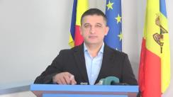Conferință de presă susținută de Candidatul Partidului Popular Românesc la funcția de primar al municipiului Chișinău, Vlad Țurcanu, privind resursele financiare pe care le poate accesa municipiul Chișinău pentru realizarea celor mai importante proiecte