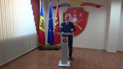 Briefing de presă privind extinderea Proiectul pilot de reacționare a echipajelor Inspectoratului General de Carabinieri la apelurile de urgență 112 în raza municipiului Chișinău