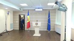 Conferință de presă susținută de deputatul fracțiunii Partidului Democrat din Moldova, Alexandru Jizdan