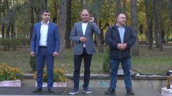 Întâlnirea locuitorilor sectorului Centru cu Ion Ceban, candidat pentru funcția de primar general al municipiului Chișinău
