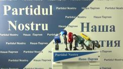"""Conferință de presă organizată de Partidul Nostru cu tema """"Comisia Electorală Centrală, în cârdășie cu Partidul Socialiștilor din Republica Moldova"""""""