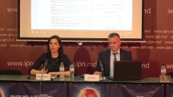 """Conferința de presă organizată de Asociația pentru Democrație Participativă """"ADEPT"""" cu tema """"Reflectarea alegerilor locale generale pe pagina web www.alegeri.md"""""""