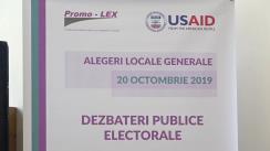 Dezbateri publice electorale organizate de Asociația Promo-LEX cu participarea candidaților la funcția de primar al municipiului Soroca