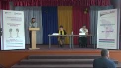 Dezbateri publice electorale organizate de Asociația Promo-LEX cu participarea candidaților la funcția de primar a satului Lozova, raionul Strășeni