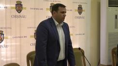 Andrei Năstase în ședință cu funcționarii din cadrul Primăriei municipiului Chișinău