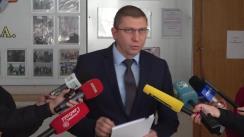 Briefing organizat de Procuratura Anticorupție cu privire la cazul lui Vladimir Plahotniuc